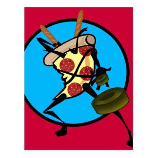 POSTAL DE LA PIZZA DE NINJA