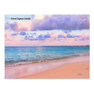 Postal de la playa de HDR de las islas de Gran