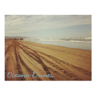 Postal de la playa de las dunas SVRA Pismo de