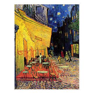 """Postal De la """"postal terraza del café"""" de Vincent van"""