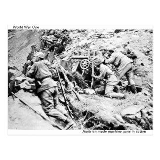 Postal de la Primera Guerra Mundial