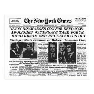 Postal de la protesta de Nixon/del triunfo