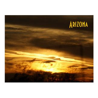 Postal de la puesta del sol de IDKP Arizona
