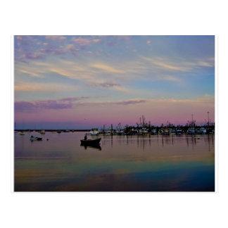Postal de la puesta del sol de Provincetown