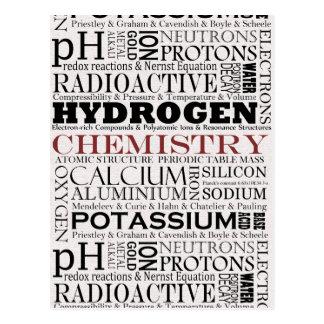Postal de la química