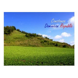 Postal de la República Dominicana de Constanza