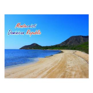 Postal de la República Dominicana de Montecristi