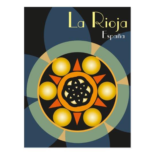Postal de La Rioja, España
