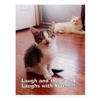 Postal de la risa