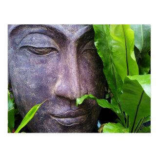 Postal de la serenidad de Buda del zen
