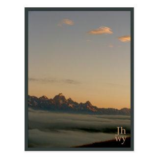 Postal de la serie 2 de la foto de Jackson Hole