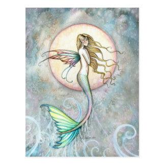 Postal de la sirena por Molly Harrison