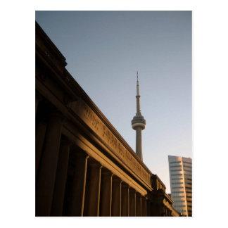 Postal de la sombra de Toronto