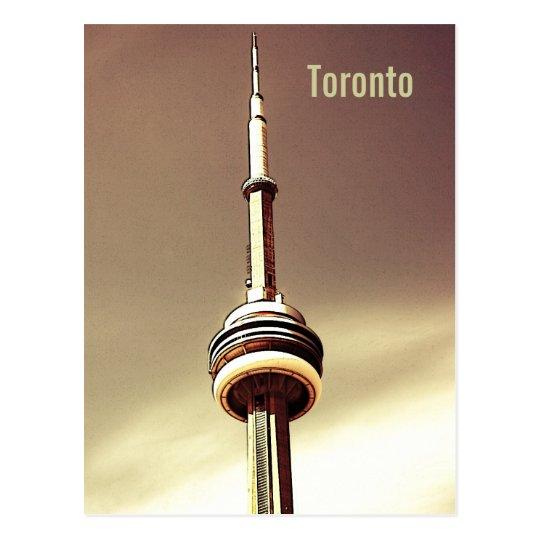 Postal de la torre del NC de Toronto