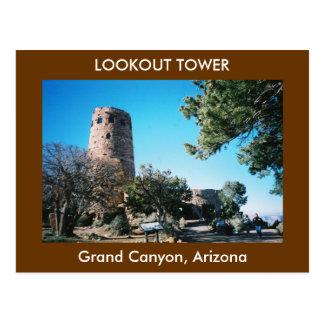 Postal de la torre del puesto de observación