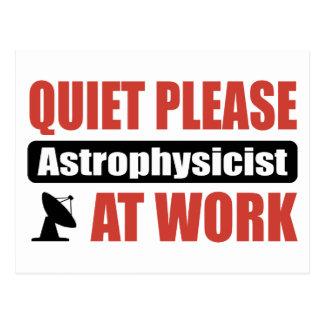 Postal De la tranquilidad astrofísico por favor en el