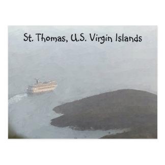Postal de la travesía de St Thomas