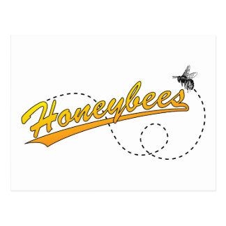 Postal de las abejas