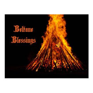 Postal de las bendiciones de Beltane