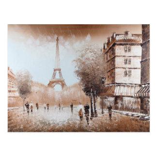 Postal de las calles de París