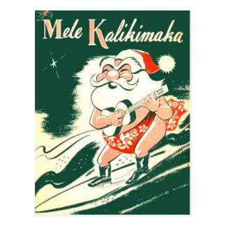 Postal de las Felices Navidad muy de Mele