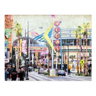 Postal de Las Vegas del vintage