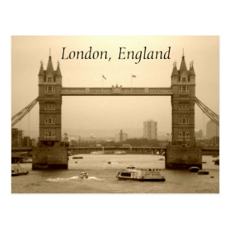 Postal de Londres, Inglaterra