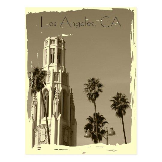 ¡Postal de Los Ángeles del estilo del vintage! Postal
