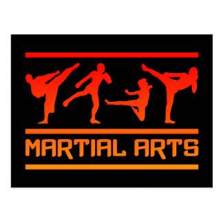 ¡Postal de los artes marciales - personalizar! Postal