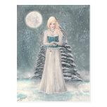 Postal de los azules del invierno