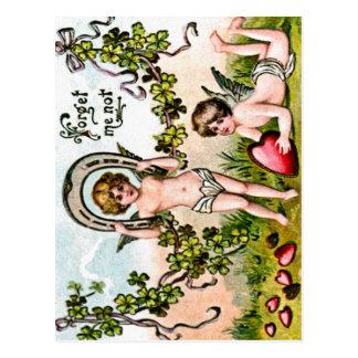 Postal de los Cupids de la buena suerte