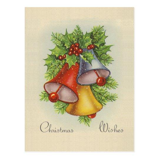 Postal de los deseos del navidad
