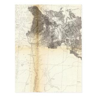 Postal De los lagos mud al Océano Pacífico
