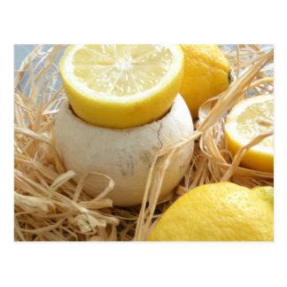 Postal de los limones