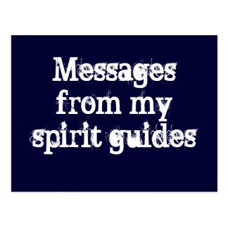Postal de los mensajes