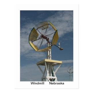 Postal de los molinoes de viento