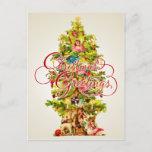 Postal de los saludos del navidad