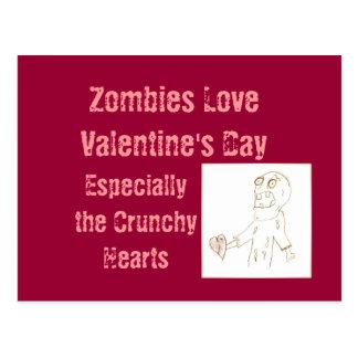 Postal de los zombis del zombi para el el día de