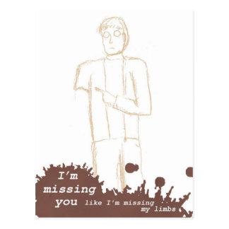 """Postal de los zombis - """"falto usted… """""""