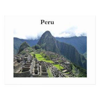 Postal de Machu Picchu