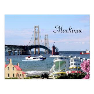 Postal de Mackinac