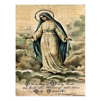 Postal de Maria