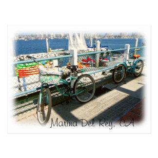 ¡Postal de Marina Del Rey! Postal