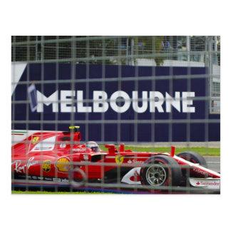 Postal de Melbourne Australia Grand Prix