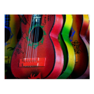 Postal de México de las guitarras del juguete