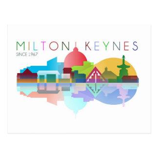 Postal de Milton Keynes desde 1967