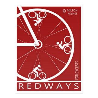 Postal de Milton Keynes Redways