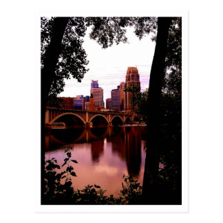 Postal de Minneapolis