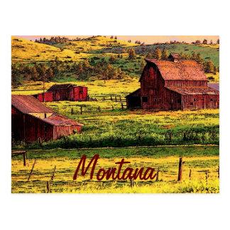 Postal de Montana