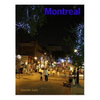 Postal de Montreal Canadá